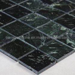 Grüne quadratische Marmormosaik-Fliese 30X30cm