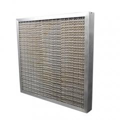 Het Roestvrij staal van de hoge Efficiency met de Filters van het Vet van de Honingraat van het Netwerk