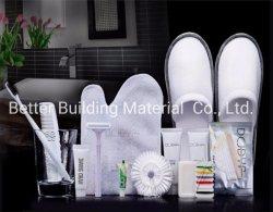 Kundenspezifische Miniwegwerfannehmlichkeiten stellten Hotel-Seifen und Toilettenartikel der Flaschen-30ml für Verkauf ein