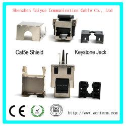Shield Cat5e du connecteur du module Keystone Veste Mactisical RJ45 Cat 5e module Ethernet Lightning-Proof coupleurs en ligne