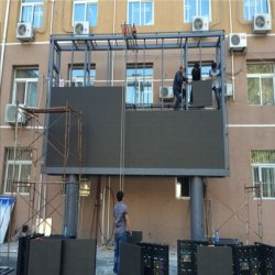 Garantía de 3 años de 2020 Venta caliente al aire libre a todo color P6 Signo Billboard de la pantalla de LED gigantes