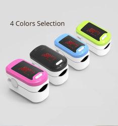 저가 LED 가정용 손가락 맥박 산소 측정기 의료 핑거팁 펄스 산소측정계 SpO2 혈액 산소 테스트 장비