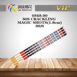 0345-30-30S estalante Magic disparos importar mão exterior Fórmula Química fogos de artifício para venda