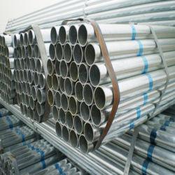 Gi la especificación de tubo de acero galvanizado corrugado tubos de alcantarilla por metro para bastidor de efecto invernadero