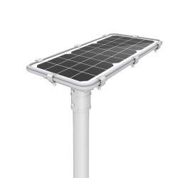 Outdoor Power Lampe LED solaire de jardin de la rue avec la source de lumière