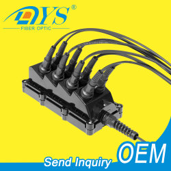 NAP de boîtier de raccordement de séparateur étanche extérieur IP68 de solution FTTX/FTTA/FTTH Boîtier NAP de borne de distribution de câble à fibre optique