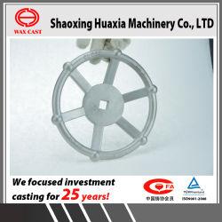 投資鋳造のステンレス鋼弁の車輪を投げる失われたワックスの鋳造の無水ケイ酸SOL
