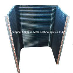 O tubo de cobre em forma de U aleta de alumínio Peças de refrigeração condensador para unidades com condensação/Ar condicionado