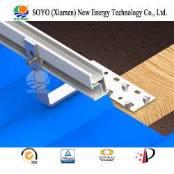 Haak van /Solar van het Rek van de Legering van het Aluminium van de Tegel van het Porselein van de Energie van Soyo de Zonne/ZonneSteun
