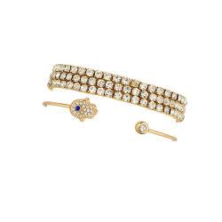 Promotie Gift Wholesale Armband Dames Handmade Custom Charm Fashion Armbanden Sieraden eenvoudige charme Gold Plated Jewelry Fashion Armband
