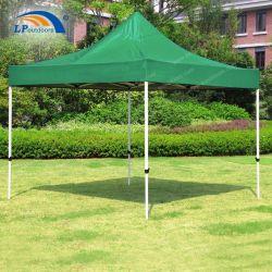 Pop up tente d'auvent de pliage de plein air de renom Gazebo en aluminium