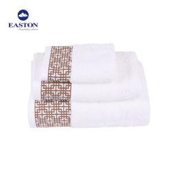 Luxe 100% het Materiaal van de Katoenen Handdoek van de Jacquard voor Hotel