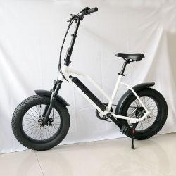 E-Bicycle 20pouce 48V 500W de graisse électrique vélo électrique de la plage de montagne de pneus neige vélo Vélo Crusier E E-Bike