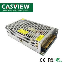 خرج مورد طاقة معدني CCTV: 20 أمبير، DC12 فولت، الإدخال: نظام كاميرا LED بقدرة 50-240 فولت بتردد 50/60 هرتز