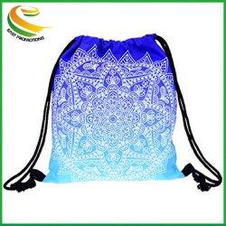 Прелестная Yokata шаблон специальный мешочек для девочек, спортивный зал мешок для мальчика, наплечная сумка рюкзак для женщин и мужчин и идеально подходит для просмотра спортивных состязаний школьной поездки - синий Mandala