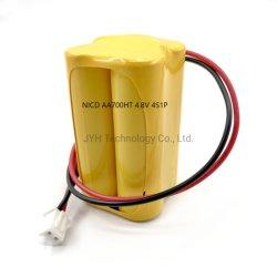 4.8V AA700 인증 고온 NiCd 배터리 팩