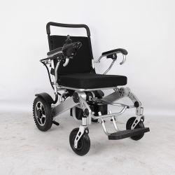 Discapacitados de alimentación de aluminio ligero plegable silla de ruedas eléctrica