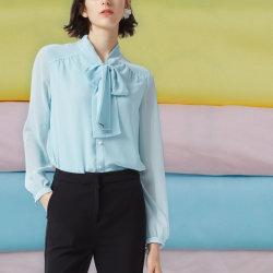 De Stof van de Chiffon van Habijabi 100%Polyester voor de Sjaal van de Kleding van het Overhemd