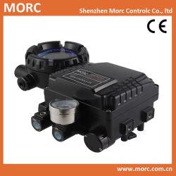 Posicionador de válvula neumática mecánico giratorio