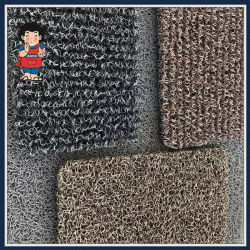 PVC 미끄럼 방지/미끄럼 방지/자동차/도어/코일/공장/바닥/욕실/누들 매트 카펫과 스파이크 뒷받침