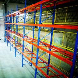 Heavy Duty industrielle de l'entrepôt de stockage de palettes en acier métallique étagère rayonnage
