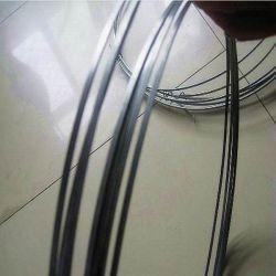 Haute teneur en carbone galvanisé Fil d'acier plat