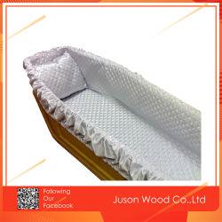 Высокое качество похорон деревянные гробу останки гроб внутренняя панель боковины