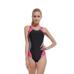 Моды Style Лайкра Sportswear Upf50+ короткие купальные костюмы для леди купальный костюм