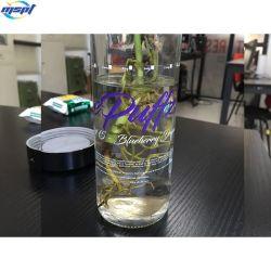 L'étiquette en vinyle transparent personnalisé stickers auto adhésif étanche clair BOPP Étiquettes d'emballage pour bouteille
