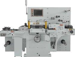 Nova estrutura e a Alta Velocidade de Corte Kiss rótulo em branco/etiqueta impressa morrem de mesa da máquina de corte com função de guilhotinagem