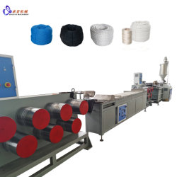 El plástico PET/PP/PVC/nylon cuerda/red de pesca/Zipper filamento/monofilamento haciendo/máquina extrusora