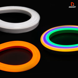 4ПК 12дюйма/30см Colorshift RGB LED Neon Flex газа для автомобильного освещения погрузчика RV кемпинг на лодке Ван 4X4