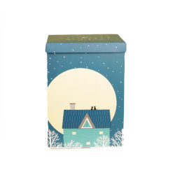 Ustom imprimé étagère en carton ondulé Boîte carton de l'emballage de fruits secs
