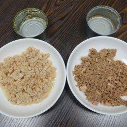 Les aliments pour chats Aliments pour animaux familiers de gros de fruits de mer de thon en conserve pour chat