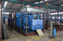 Воздушный компрессор для промышленных газов азота