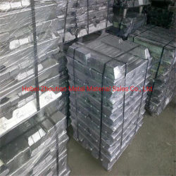 Venta directa, la pureza del 99,7% de lingotes de aluminio en stock
