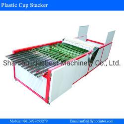 Stapelnde Maschinen-Wegwerfglascup-Plastikablagefach