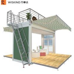 Construções prefabricadas/Portátil/Mobile Tiny House/ Televisão Pack/Expansível Recipiente Prefab Home/Casa Dobrável Luxo para venda