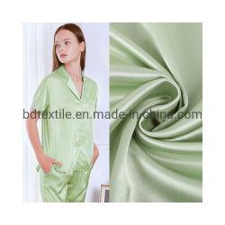 Indumento eccellente di qualità che allinea il poli tessuto del raso per il vestito