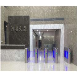Seguridad automática de acrílico torniquete Swing puerta barrera