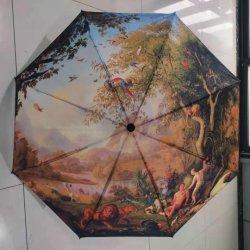 3 impressão fotográfica personalizada Dobre Umbrella