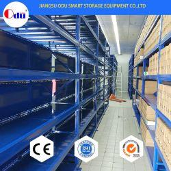 De zware Rekken van de Opslag van de Hoge Capaciteit van het Staal van de Plank van het Pakhuis van het Type Regelbare