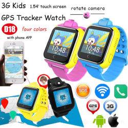 3G WCDMA Kids Tracker Watch met Real Map Location D18