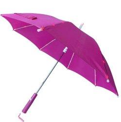 손잡이 토치 플래쉬 등을%s 가진 우산을 광고하는 LED