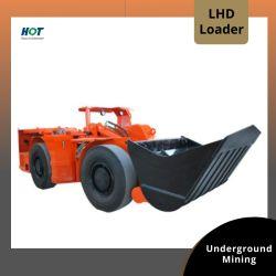 Низкий профиль дизельного двигателя электрический подземной добычи полезных ископаемых с левосторонним рулевым управлением станка