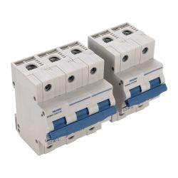 높은 Breaking 15ka 낮은 Voltage Solar Products Mini Miniature Micro Electric AC DC GB10963.1 MCB Eltrical Parts Circuit Breaker (1U)