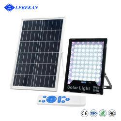 Control remoto Lebekan Multicolor Solar Panel exterior 100W 200W 300W Reflector de 400W LED RGB