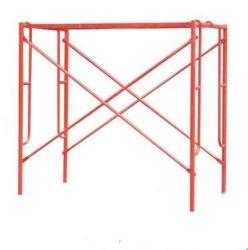 الهيكل السعر نوع البناء قبل مجلفنة Q235 الصلب BS1139 السقالات H الإطار