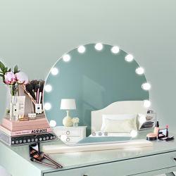 غرفة نوم أمازون جديدة مضاءة LED الدائمة مرآة التجميل