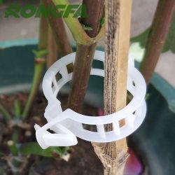 22 mm weiße Farbe Kunststoff Clips Rebe Clips für Pflanze Unterstützt Clips Tomatenclips